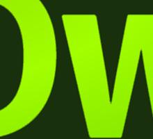 DreamWeaver CS6 Logo Sticker