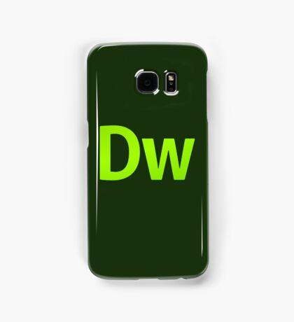 DreamWeaver CS6 Letters Samsung Galaxy Case/Skin