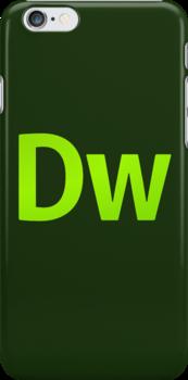 DreamWeaver CS6 Letters by Kingofgraphics