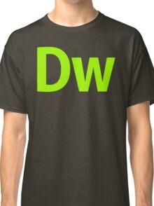 DreamWeaver CS6 Letters Classic T-Shirt