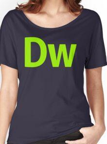 DreamWeaver CS6 Letters Women's Relaxed Fit T-Shirt