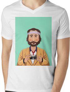 Richie Tenenbaum Mens V-Neck T-Shirt