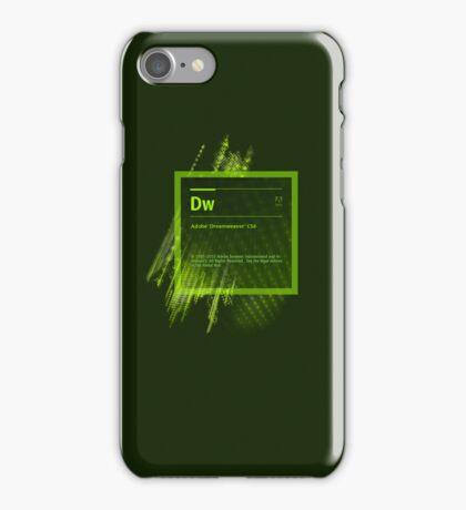 DreamWeaver CS6 Splash Screen iPhone Case/Skin
