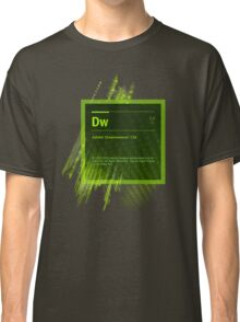 DreamWeaver CS6 Splash Screen Classic T-Shirt