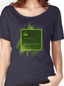 DreamWeaver CS6 Splash Screen Women's Relaxed Fit T-Shirt