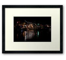Cabo Marina Framed Print