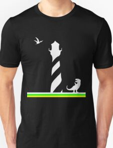 Lighthouses & Dinosaurs Unisex T-Shirt