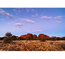 Twilight, Kata Tjuta Photographic Print