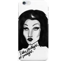 Sharon Needles Spotlight iPhone Case/Skin