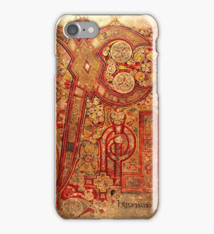 Page from the Book of Kells iPhone Case/Skin