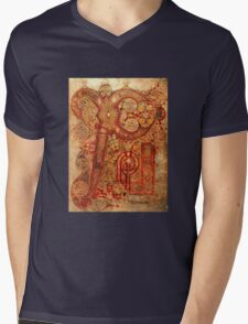 Page from the Book of Kells Mens V-Neck T-Shirt