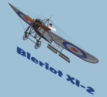 Royal Flying Corps Bleriot XI-2 T-shirt Baby Tee