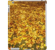 leaves iPad Case/Skin
