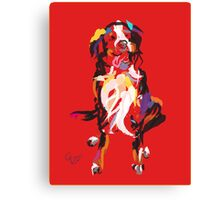 Dog Iggy Canvas Print