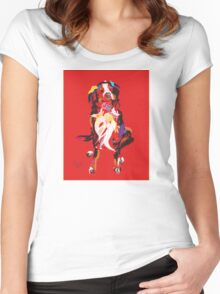 Dog Iggy Women's Fitted Scoop T-Shirt