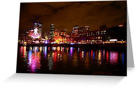 Looking at the Vivid Festival by Matt-Dowse
