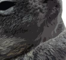 Plzzzzz Squirrel Sticker