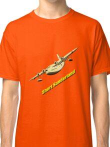 Short Sunderland Flying Boat WWII T-shirt & leggings Classic T-Shirt