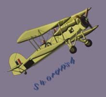British WWII Swordfish Biplane T-shirt and leggings Kids Tee