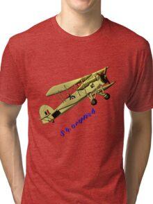 British WWII Swordfish Biplane T-shirt and leggings Tri-blend T-Shirt