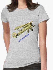 British WWII Swordfish Biplane T-shirt and leggings Womens Fitted T-Shirt