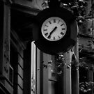 Collins st Clock by Andrew Wilson