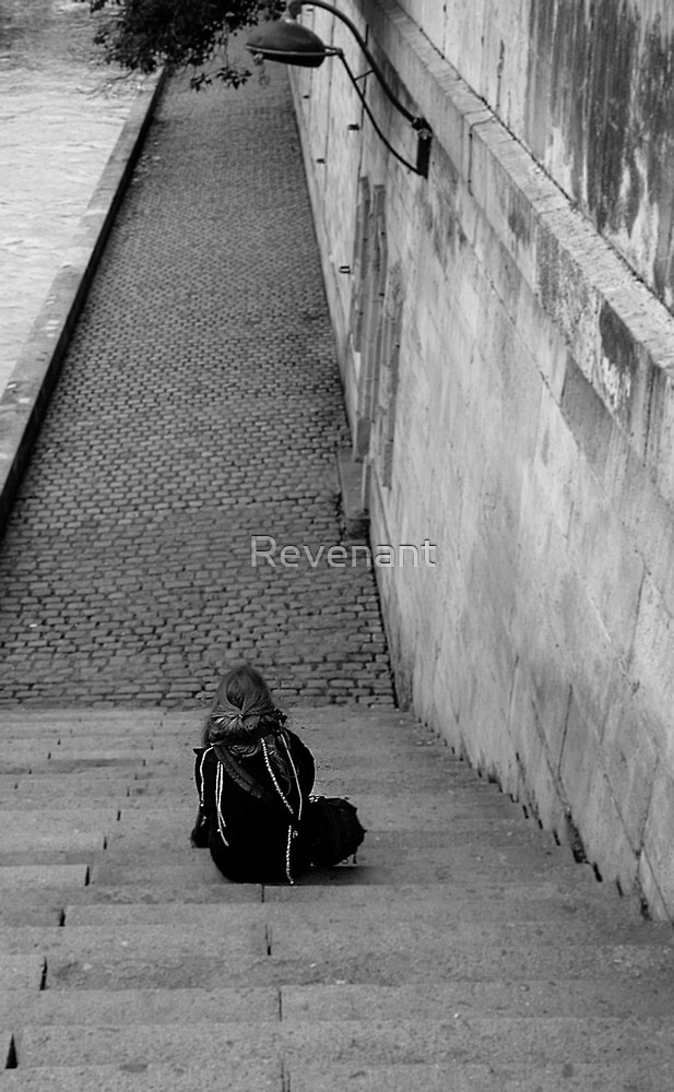My daughter by the Seine by Revenant