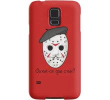Psycho Killer Samsung Galaxy Case/Skin