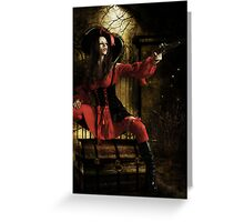 Stand & Deliver- The Highwaywoman Greeting Card
