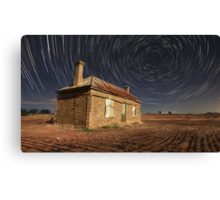 TRails Of Ruin Canvas Print