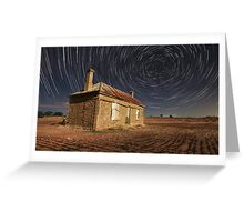 TRails Of Ruin Greeting Card