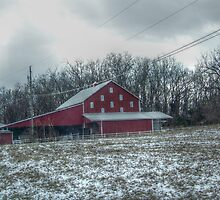 Winter Barn by James Brotherton