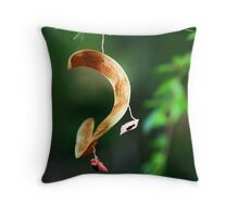 Pink Seed Throw Pillow
