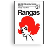 Rangas Matches Canvas Print