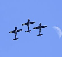 French Airforce Cartouche Dore Display Team by PhilEAF92