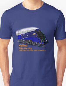 Mallard the Fastest Steam Locomotive T-shirt, etc. design Unisex T-Shirt