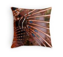 Lionfish Fin Study Throw Pillow