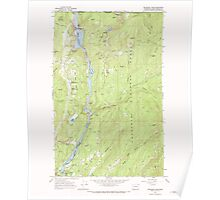 USGS Topo Map Washington State WA Boundary Dam 240167 1967 24000 Poster
