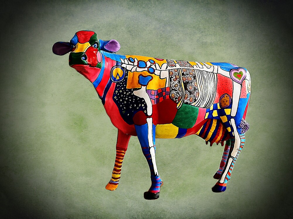 Cow Parades at School by TonyCrehan