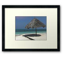 Beaches of Zanzibar Framed Print