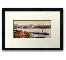 Sunrise over Douglas Bay Framed Print