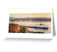 Sunrise over Douglas Bay Greeting Card