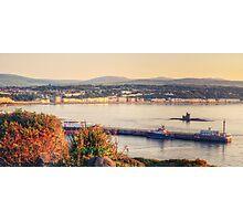 Sunrise over Douglas Bay Photographic Print