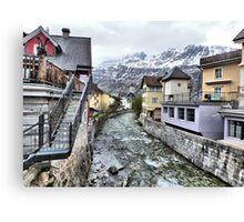 Andermatt-Switzerland. Canvas Print