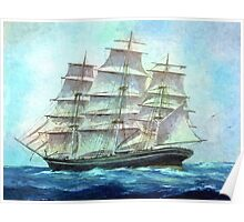 sailing to America Poster