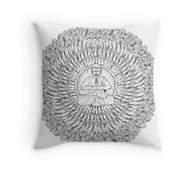 Shinsuusenju A Few Thousand Hands Throw Pillow