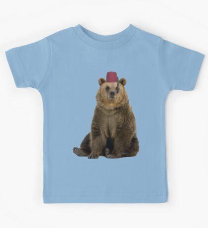 Fez Bear Kids Tee