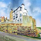 The Bay Hotel, Robin Hoods Bay, North Yorkshire Coast by Graham Clark