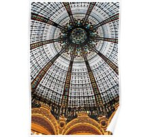 Galeries Lafayette ceiling Poster