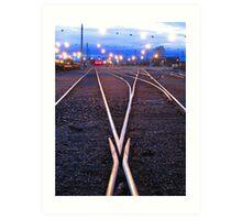 Swich Track Art Print